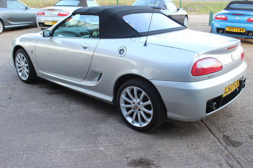 2002 MG TF 160, BLACK LEATHER, ALLOYS, NEW CAMBELT For Sale (picture 3 of 6)