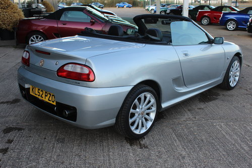 2002 MG TF 160, BLACK LEATHER, ALLOYS, NEW CAMBELT For Sale (picture 4 of 6)