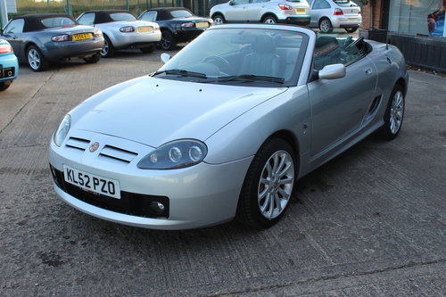 2002 MG TF 160, BLACK LEATHER, ALLOYS, NEW CAMBELT For Sale (picture 6 of 6)