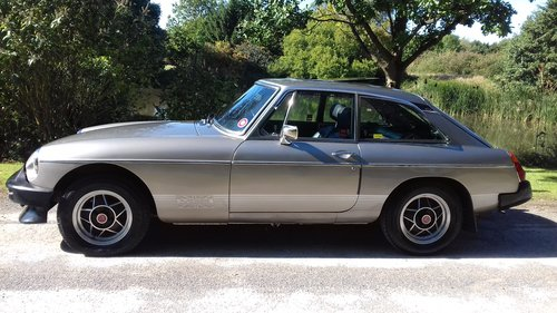 1981 MGB GT LE 'Limited Edition' ~ INVESTMENT OPPORTUNITY!! SOLD (picture 1 of 6)