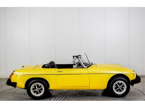 1979 MG B MGB Roadster - Overdrive For Sale (picture 4 of 6)