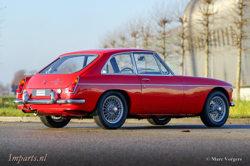 1968 Excellent MGC GT 3000 Overdrive For Sale (picture 5 of 6)