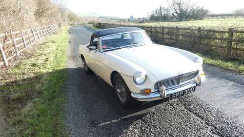 1966 MGB Roadster .Original car with only 60k miles from new SOLD (picture 1 of 6)