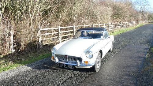 1966 MGB Roadster .Original car with only 60k miles from new SOLD (picture 2 of 6)