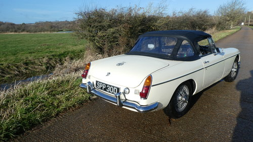 1966 MGB Roadster .Original car with only 60k miles from new SOLD (picture 4 of 6)