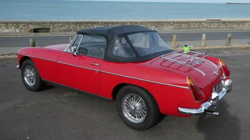 1970 MGB Roadster with Heritage Shell  SOLD (picture 1 of 5)