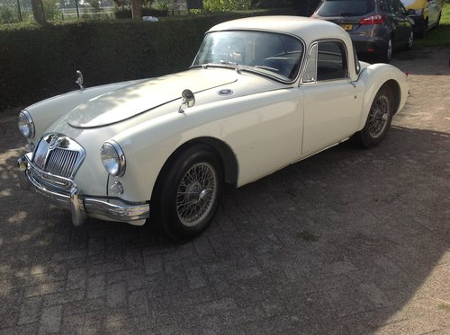 1958 MGA coupe For Sale (picture 1 of 6)