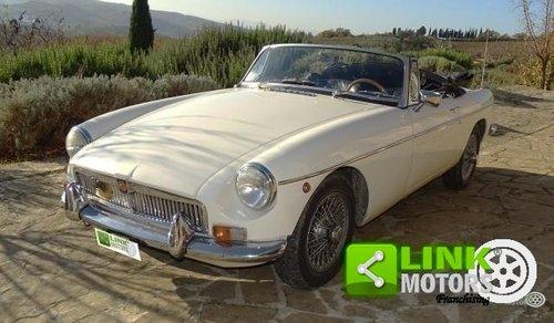 MG B DEL 1969 TARGA ORO For Sale (picture 1 of 6)