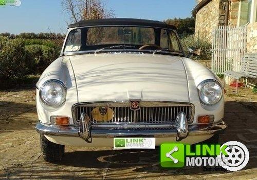 MG B DEL 1969 TARGA ORO For Sale (picture 3 of 6)