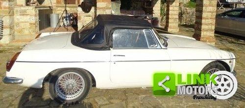 MG B DEL 1969 TARGA ORO For Sale (picture 5 of 6)