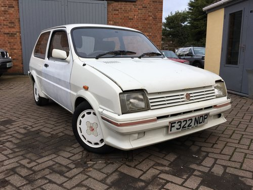 1988 Mg Metro Turbo Barn Find Ebay Auction 28 12 Sold Car And Classic