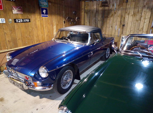 MGB ROADSTER  1969    For Sale (picture 5 of 6)