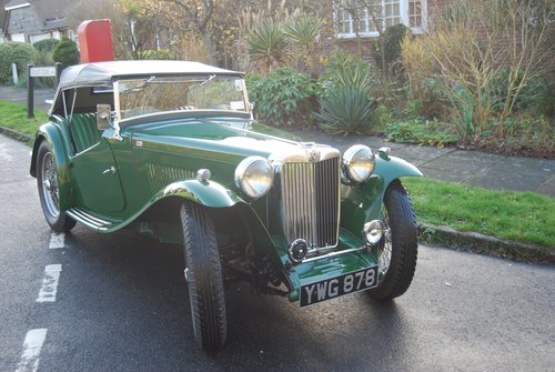 1947 MG TC - Restored to a very high standard SOLD (picture 1 of 6)