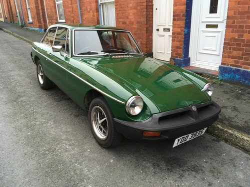 MGB GT 1.8l 1978 For Sale (picture 1 of 6)