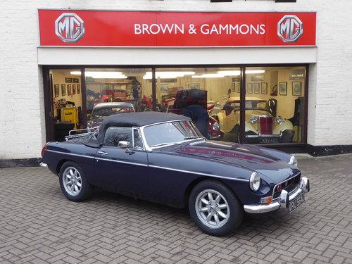 MGB ROADSTER 1971, LHD BUT CAN CONVERT IF PREFERRED For Sale (picture 1 of 6)