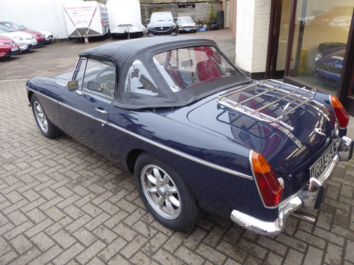 MGB ROADSTER 1971, LHD BUT CAN CONVERT IF PREFERRED For Sale (picture 3 of 6)