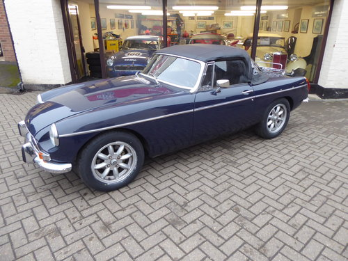 MGB ROADSTER 1971, LHD BUT CAN CONVERT IF PREFERRED For Sale (picture 5 of 6)