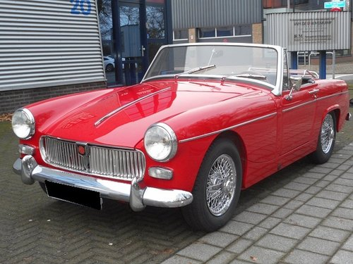 1964 MG MIDGET MK II For Sale (picture 1 of 6)