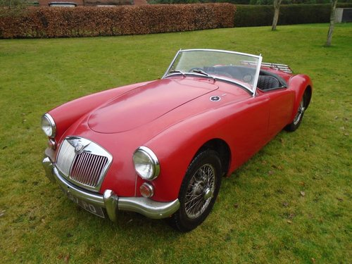 1959 MGA MK I  SOLD (picture 1 of 6)