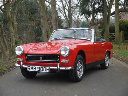 1970 MG Midget MkIII - Heritage Shelled Stunner! For Sale (picture 1 of 6)