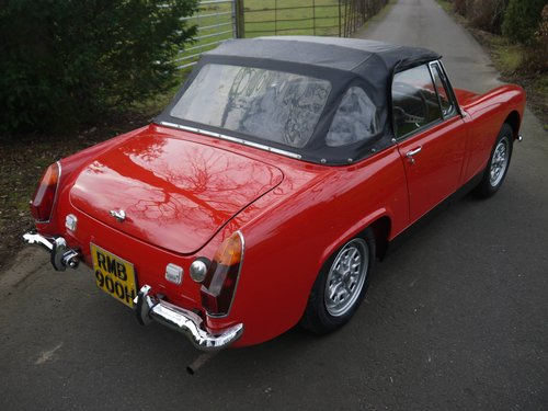 1970 MG Midget MkIII - Heritage Shelled Stunner! For Sale (picture 2 of 6)