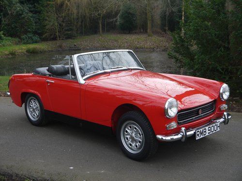 1970 MG Midget MkIII - Heritage Shelled Stunner! For Sale (picture 3 of 6)