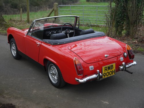 1970 MG Midget MkIII - Heritage Shelled Stunner! For Sale (picture 4 of 6)