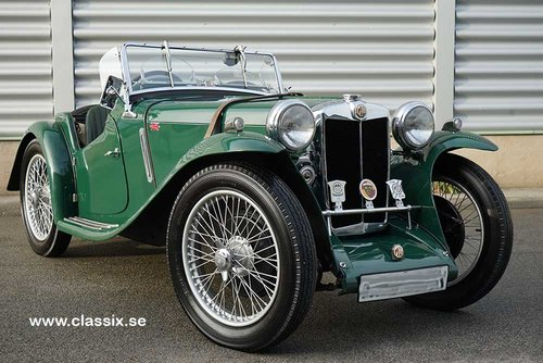 1934 MG PA Midget RHD For Sale (picture 1 of 6)
