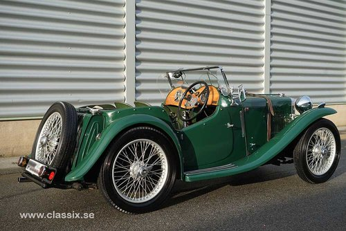 1934 MG PA Midget RHD For Sale (picture 2 of 6)