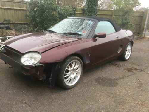 1999 Mgf 75th anniversary. Easy project For Sale (picture 1 of 6)