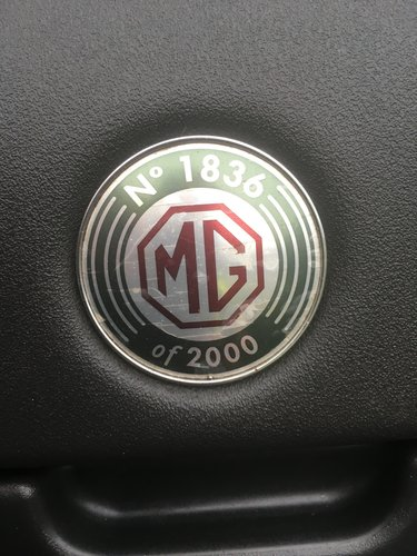 1999 Mgf 75th anniversary. Easy project For Sale (picture 6 of 6)