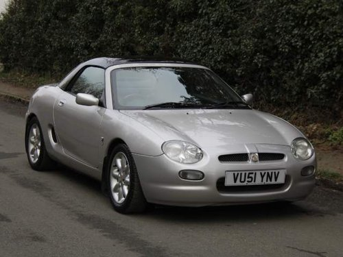 2001 MGF 1.8i - Low Mileage - Great History For Sale (picture 1 of 6)