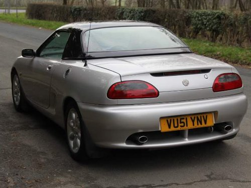 2001 MGF 1.8i - Low Mileage - Great History For Sale (picture 3 of 6)