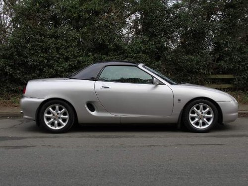 2001 MGF 1.8i - Low Mileage - Great History For Sale (picture 4 of 6)