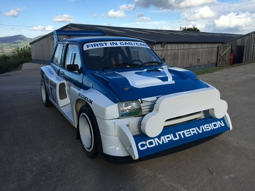 1984 MG Metro 6R4 Group B Intl Spec Rally Car - Newly Restored For Sale (picture 1 of 6)