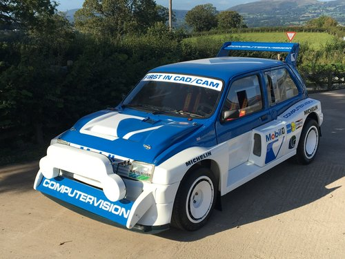 1984 MG Metro 6R4 Group B Intl Spec Rally Car - Newly Restored For Sale (picture 2 of 6)