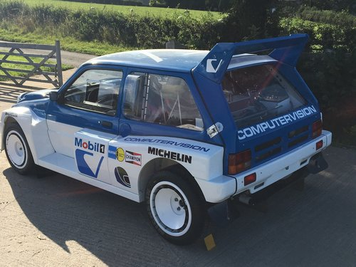 1984 MG Metro 6R4 Group B Intl Spec Rally Car - Newly Restored For Sale (picture 3 of 6)