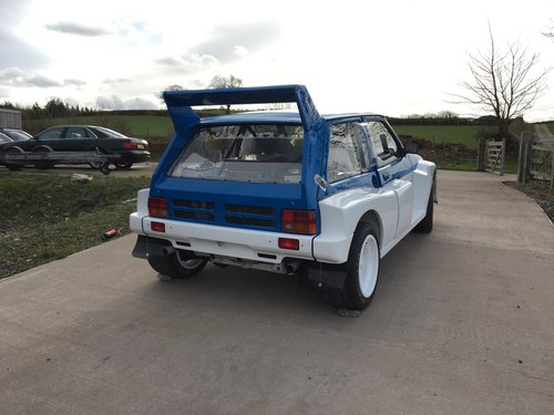 1984 MG Metro 6R4 Group B Intl Spec Rally Car - Newly Restored For Sale (picture 4 of 6)