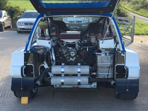 1984 MG Metro 6R4 Group B Intl Spec Rally Car - Newly Restored For Sale (picture 5 of 6)
