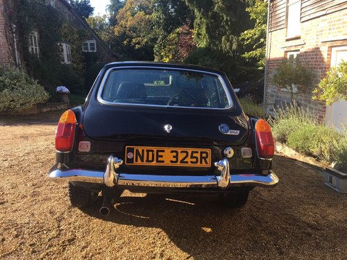 MGB GT Chrome Bumper Conversion Restored 1976 For Sale (picture 6 of 6)