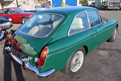 1969 MGC GT , Fully rebuilt, 5 IN STOCK For Sale (picture 1 of 6)