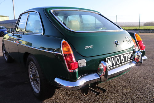 1969 MGC GT , Fully rebuilt, 5 IN STOCK For Sale (picture 4 of 6)