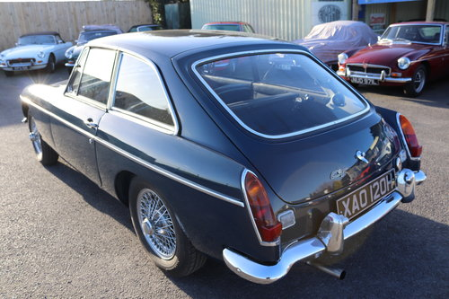 1970 MGB GT in Trafalgar blue SOLD (picture 2 of 4)