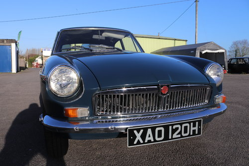 1970 MGB GT in Trafalgar blue SOLD (picture 4 of 4)