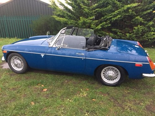 1971 MG ROADSTER 48000 MILES LEFT HAND DRIVE  SOLD (picture 3 of 3)