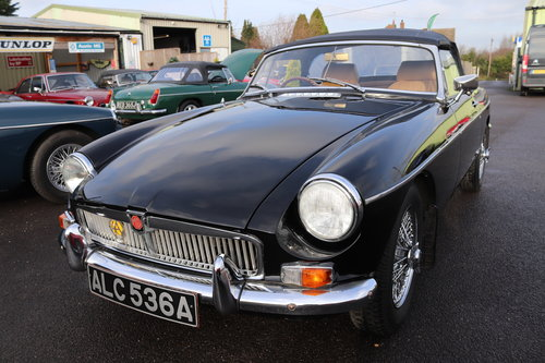 1963 MGB MK1 Pull door handle Roadster For Sale (picture 1 of 6)