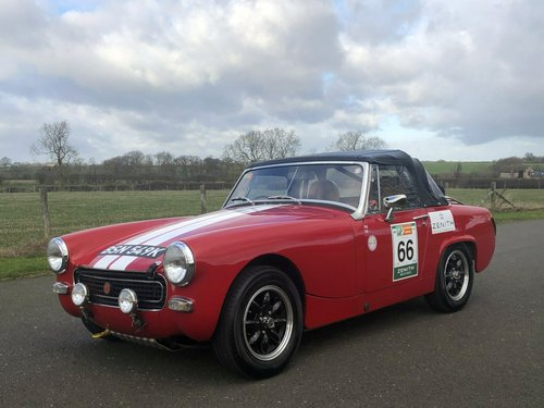 1972 MG Midget. Fast Road / Road Rally Specification SOLD (picture 1 of 6)