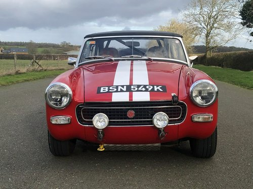 1972 MG Midget. Fast Road / Road Rally Specification SOLD (picture 2 of 6)