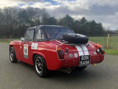 1972 MG Midget. Fast Road / Road Rally Specification SOLD (picture 4 of 6)