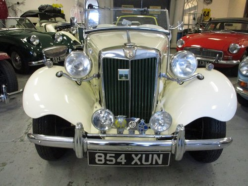 1953 MG TD Beautiful example For Sale (picture 1 of 6)
